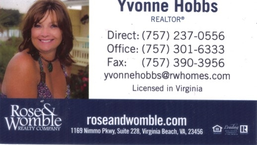 Rose & Womble Realty Company, Yvonne Hobbs